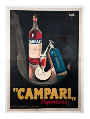 BITTER CAMPARI L'APERITIVO